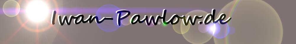 Logo Biografie Iwan Pawlow